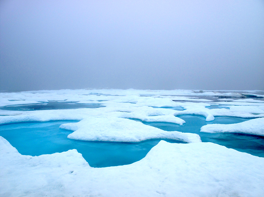 Photo 3-1. Marginal Ice (NOAA)